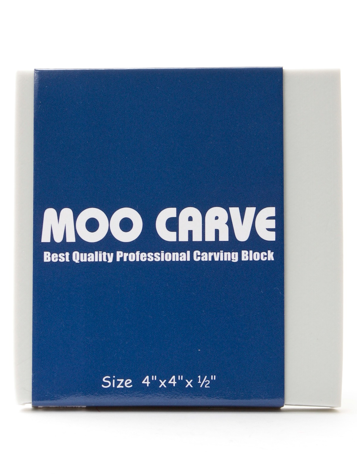 Moo Carve Artist Carving Block