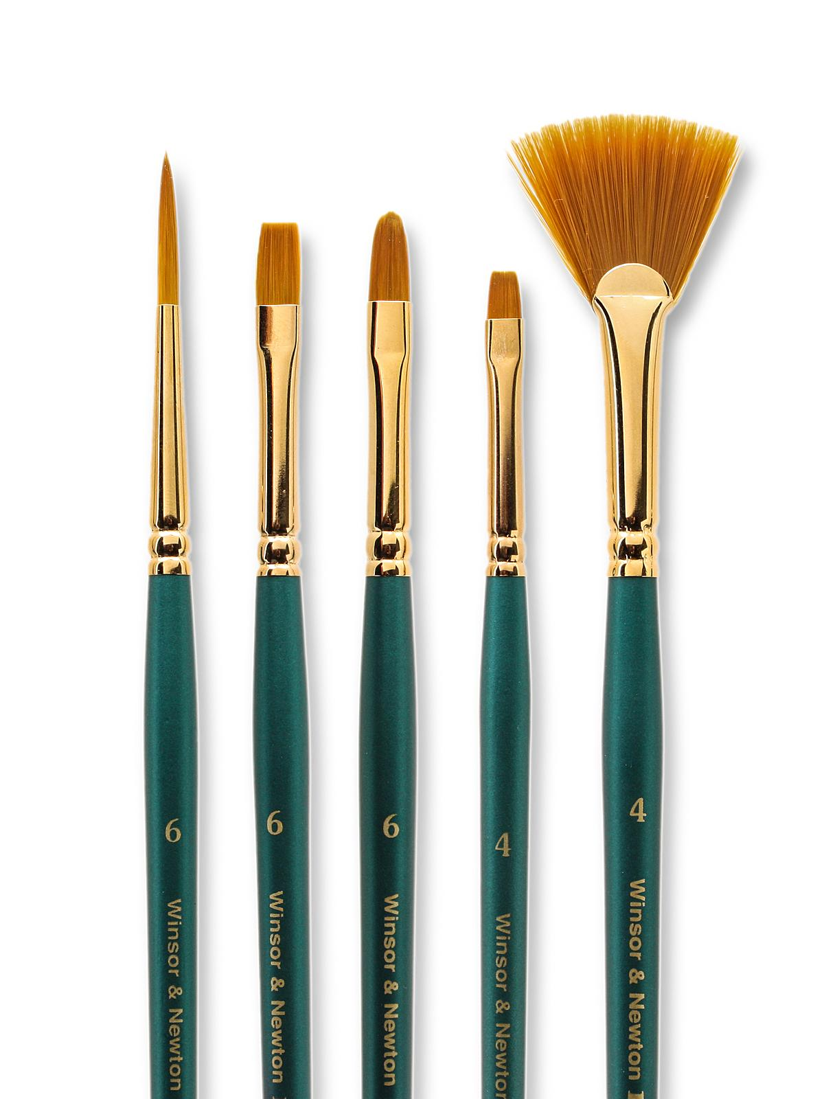 Winsor newton regency gold decorative painting brushes for Faux painting brushes