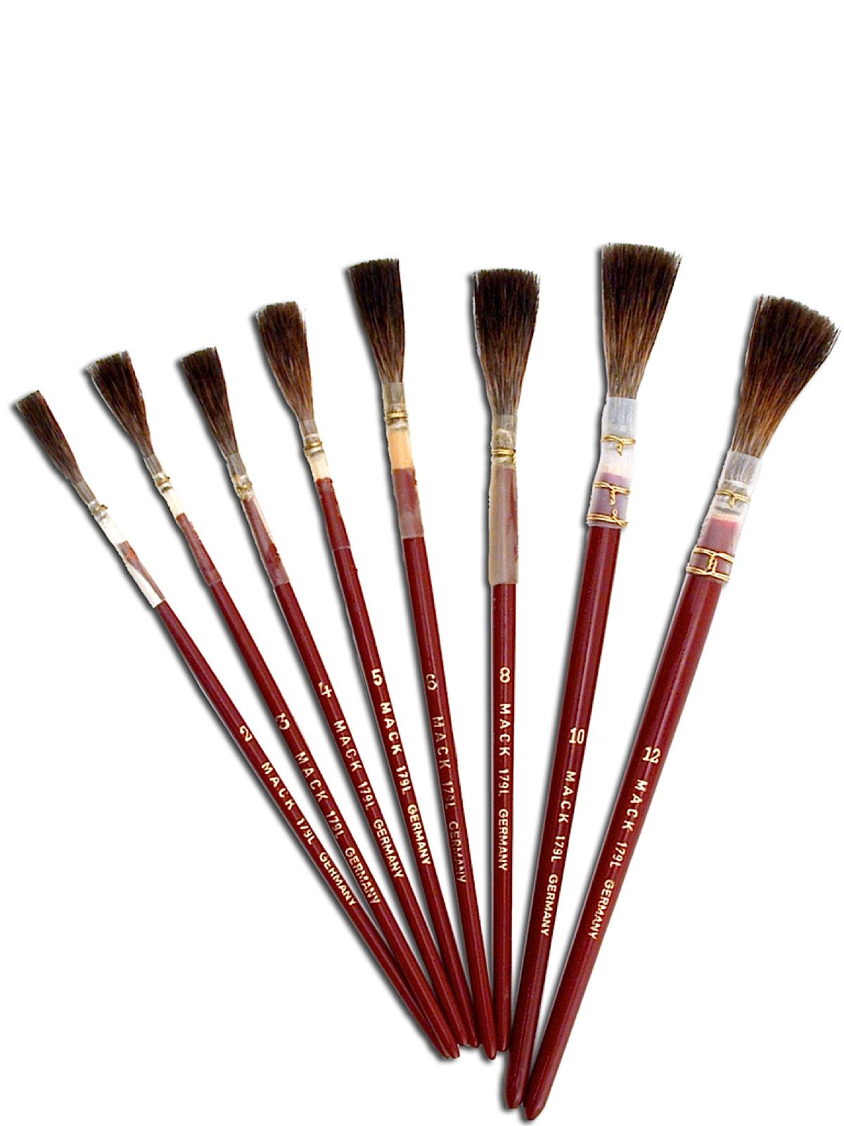Series 179L Brown Quill Brush