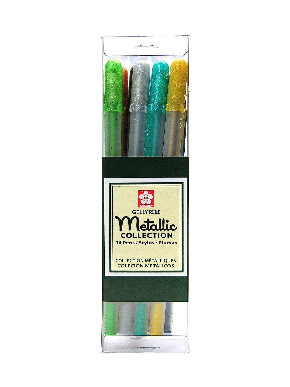 Sakura Gelly Roll Metallic Pen Sets Misterart Com