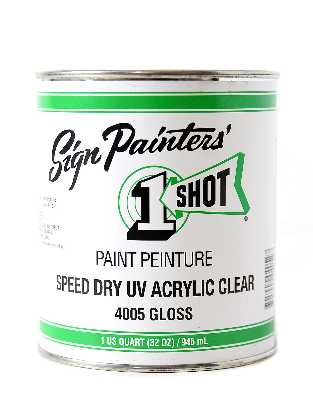 Speed Dry UV Acrylic Clear