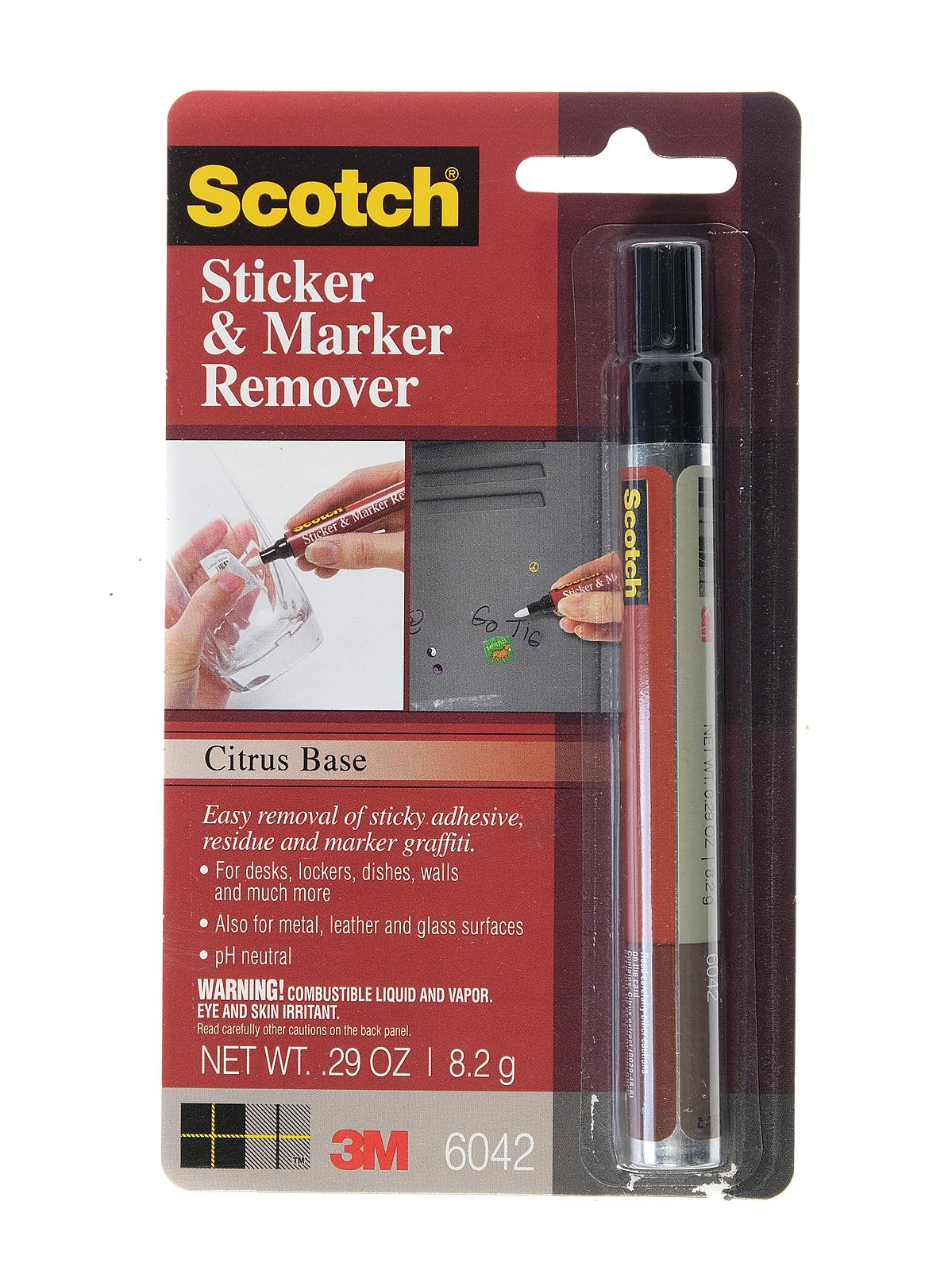 3m scotch adhesive remover pen. Black Bedroom Furniture Sets. Home Design Ideas