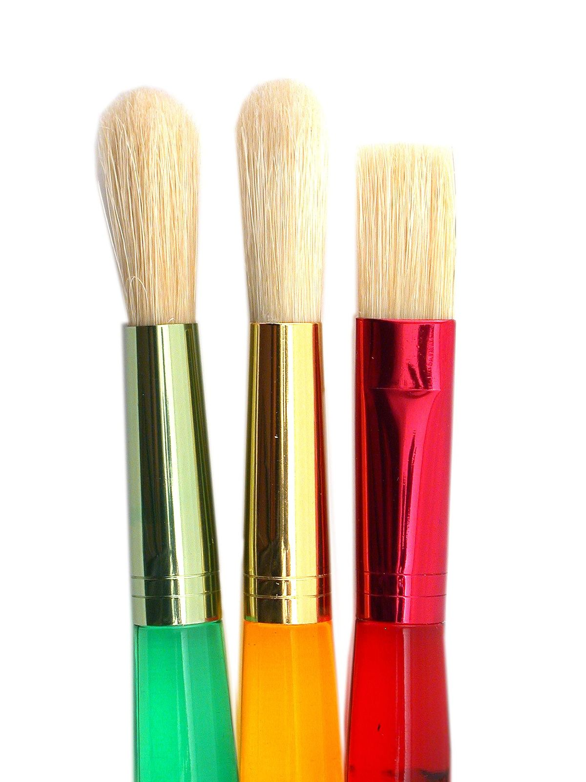 Big Kid's Choice 3-Piece Flat and Round Brush Set
