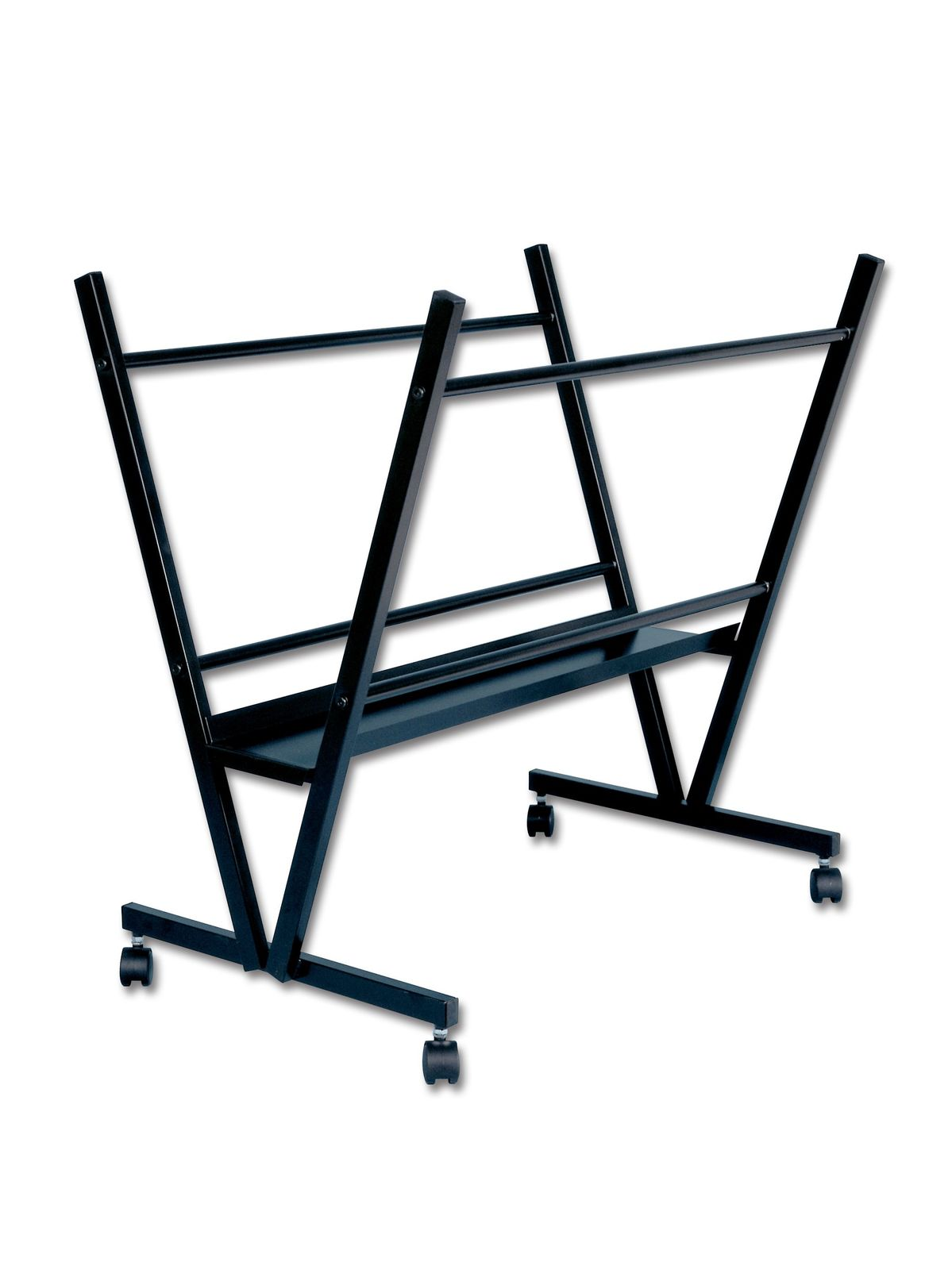Black Steel Print Rack