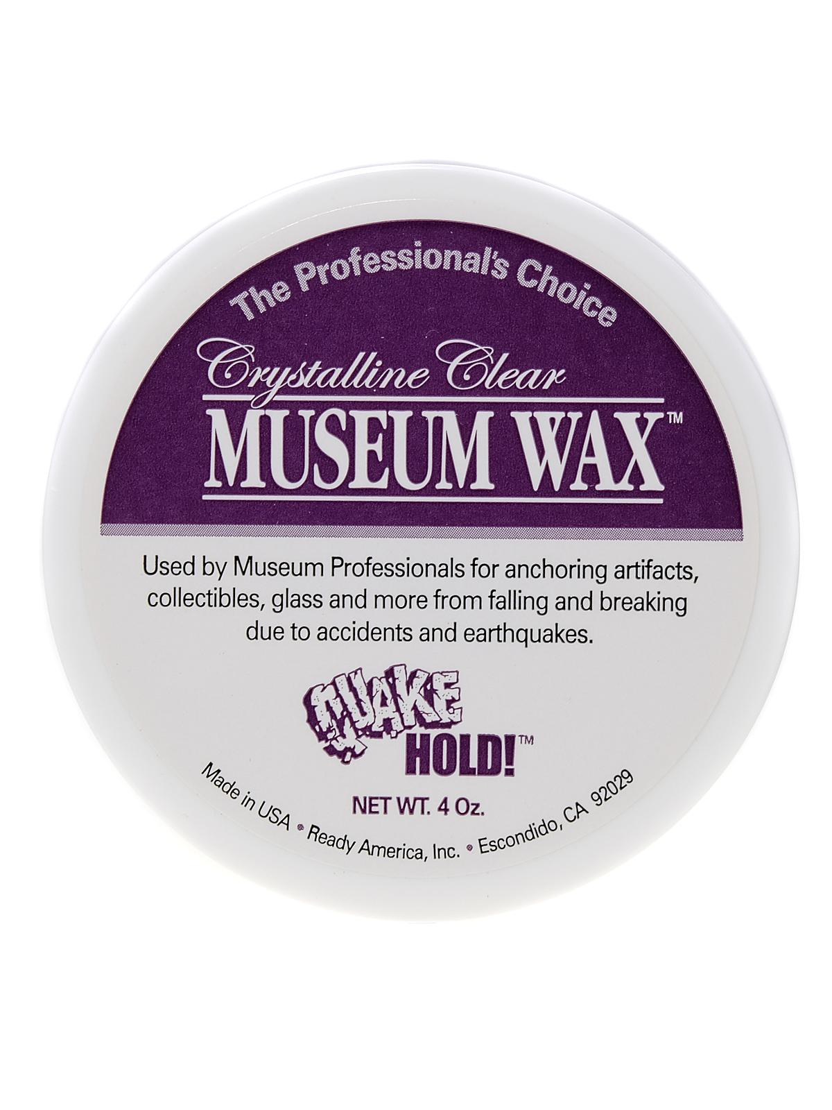 Crystalline Clear Museum Wax
