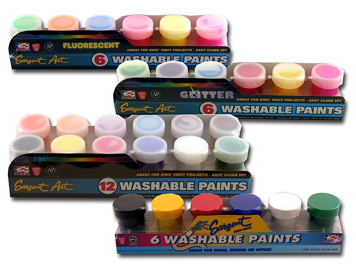 Washable Paint Sets