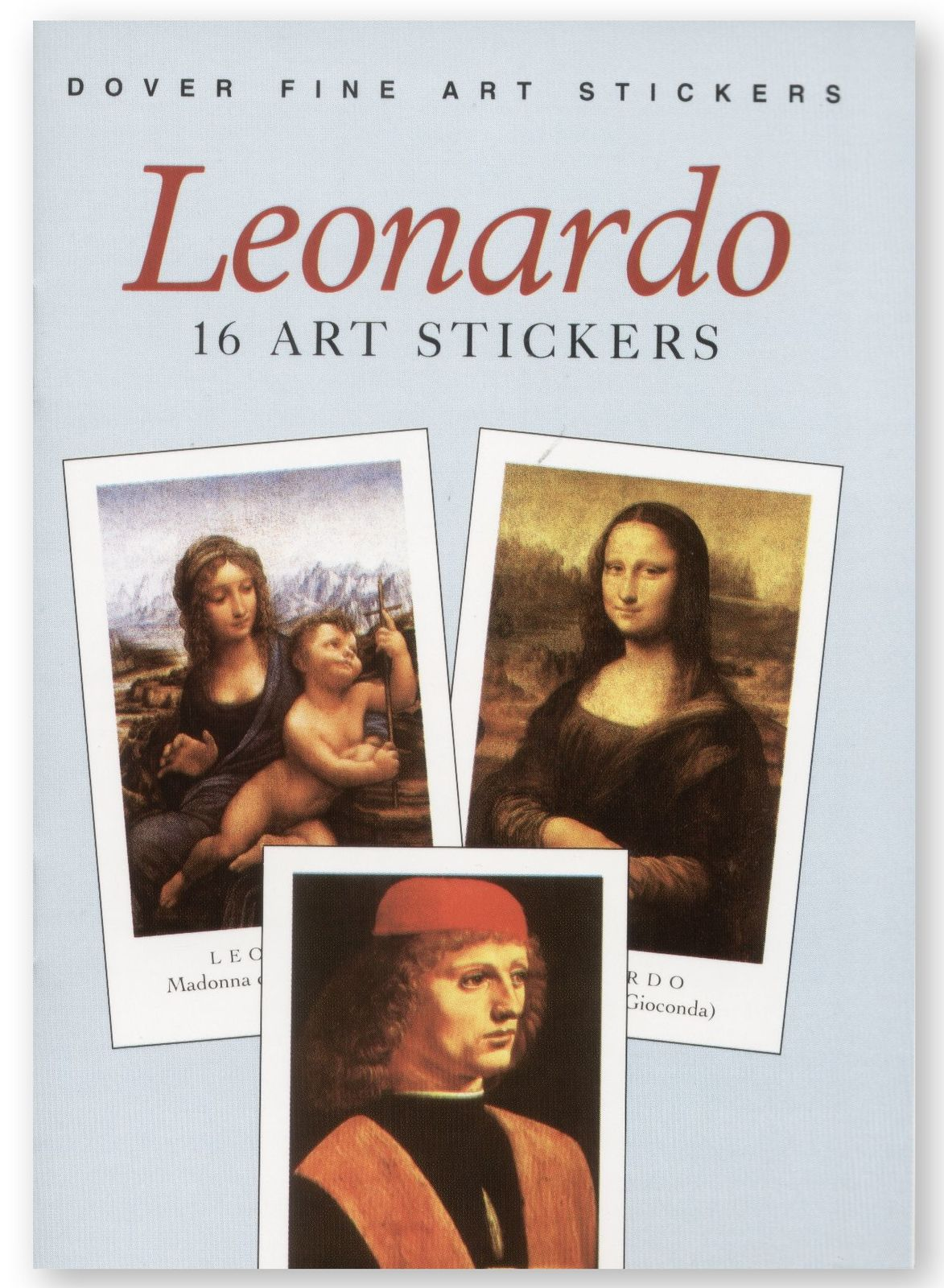 Leonardo: 16 Art Stickers
