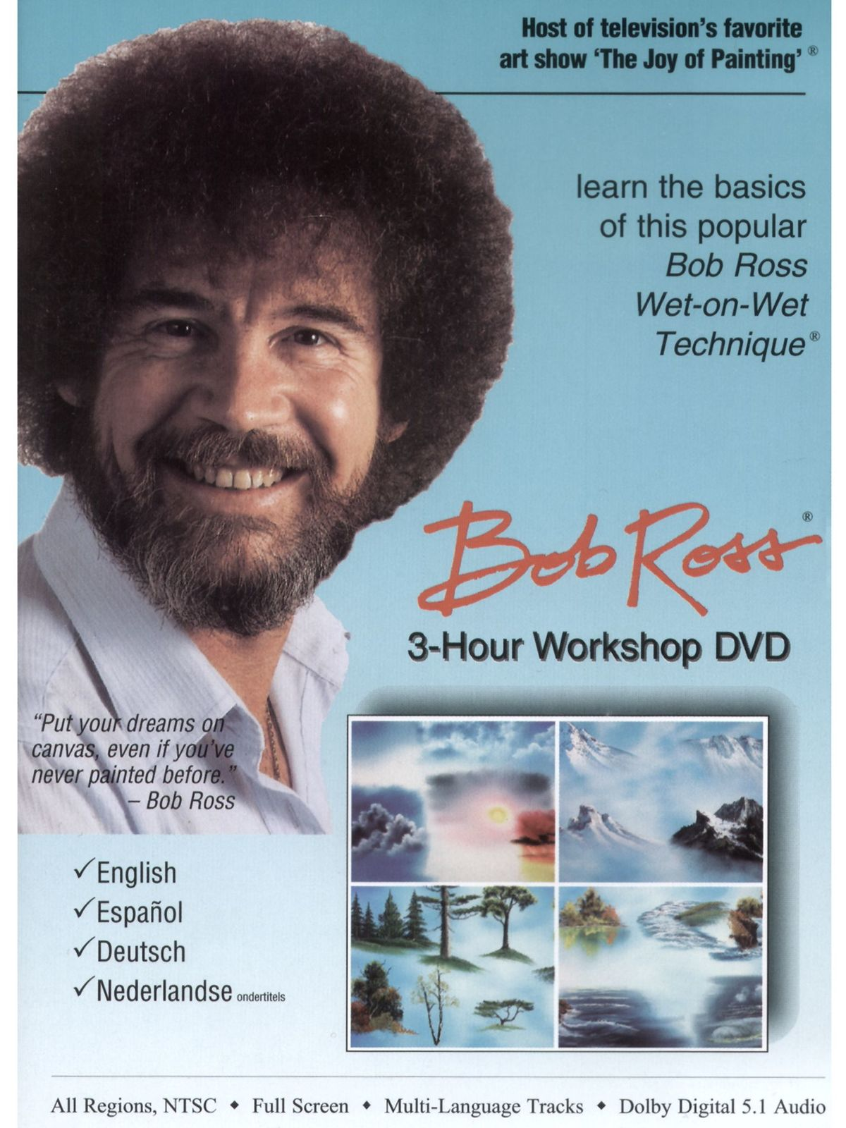 3-Hour Workshop Instructional  DVD