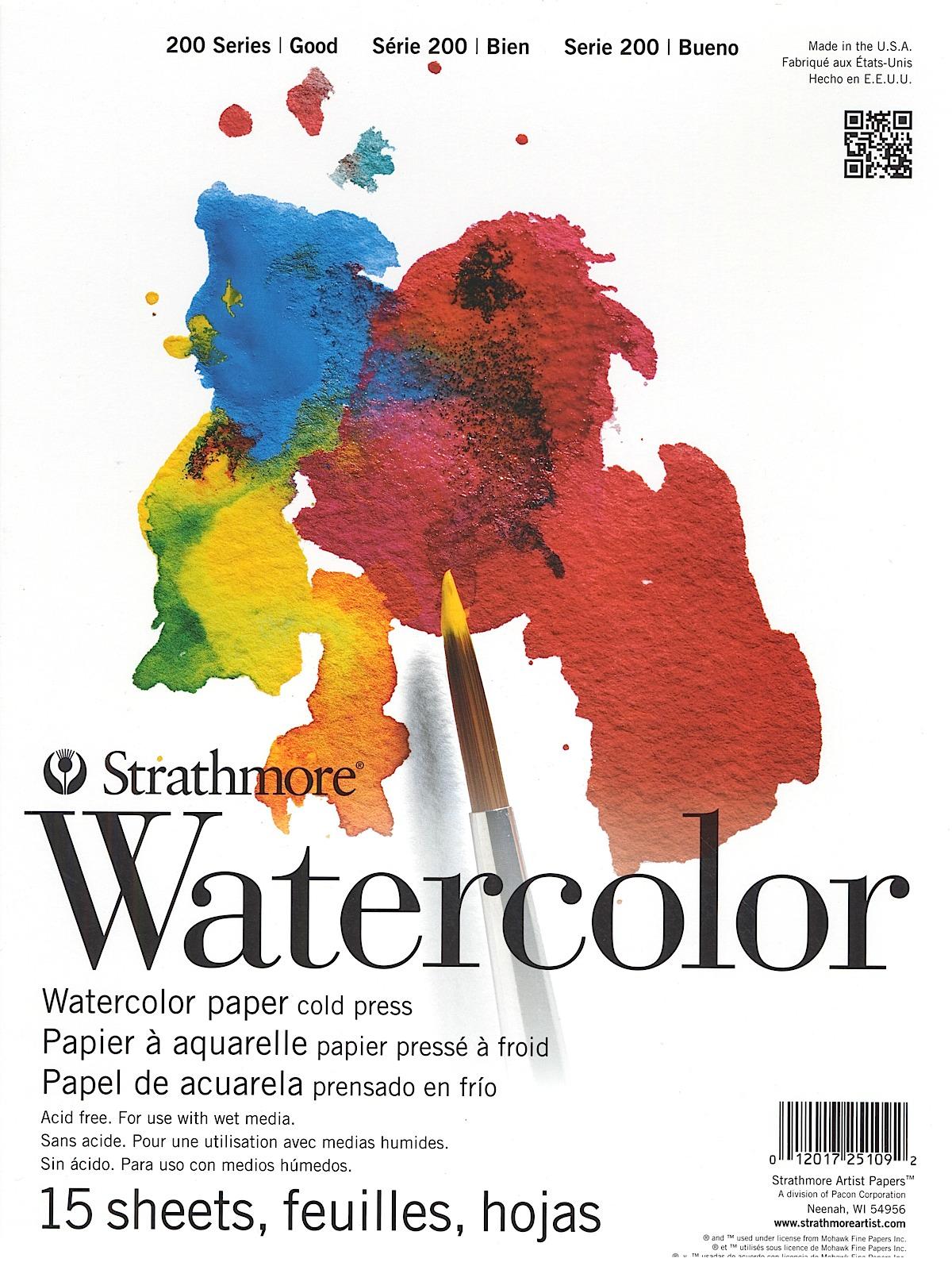 Student Art Watercolor Pads