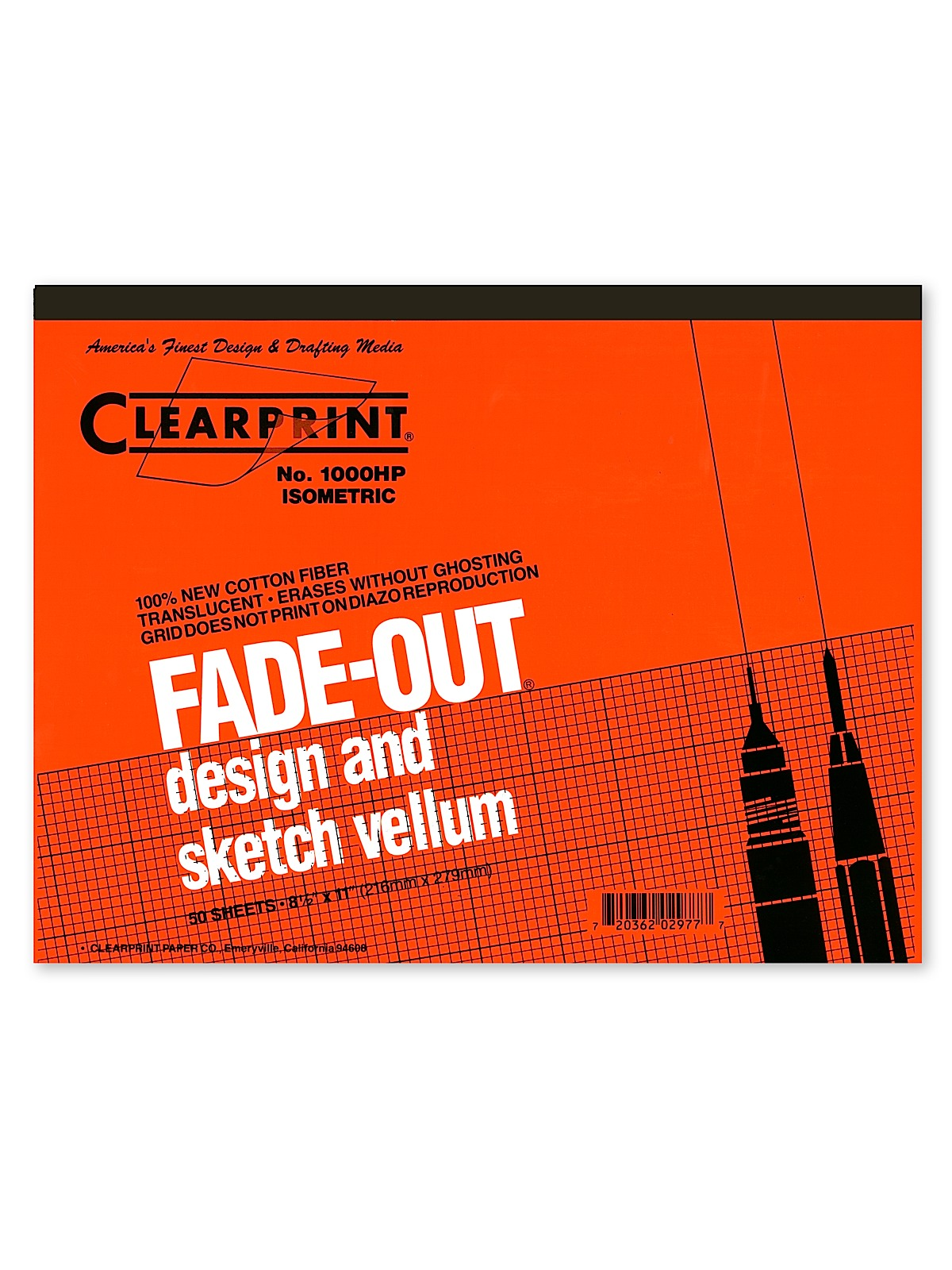 Fade-Out Design and Sketch Vellum - Isometric