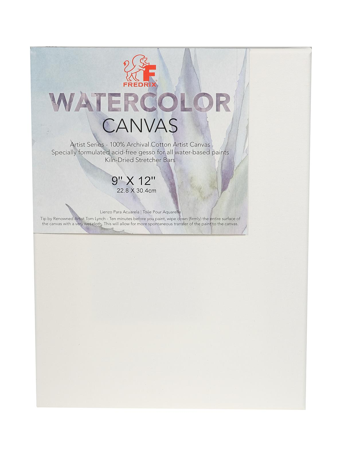 Archival Watercolor Stretched Canvas