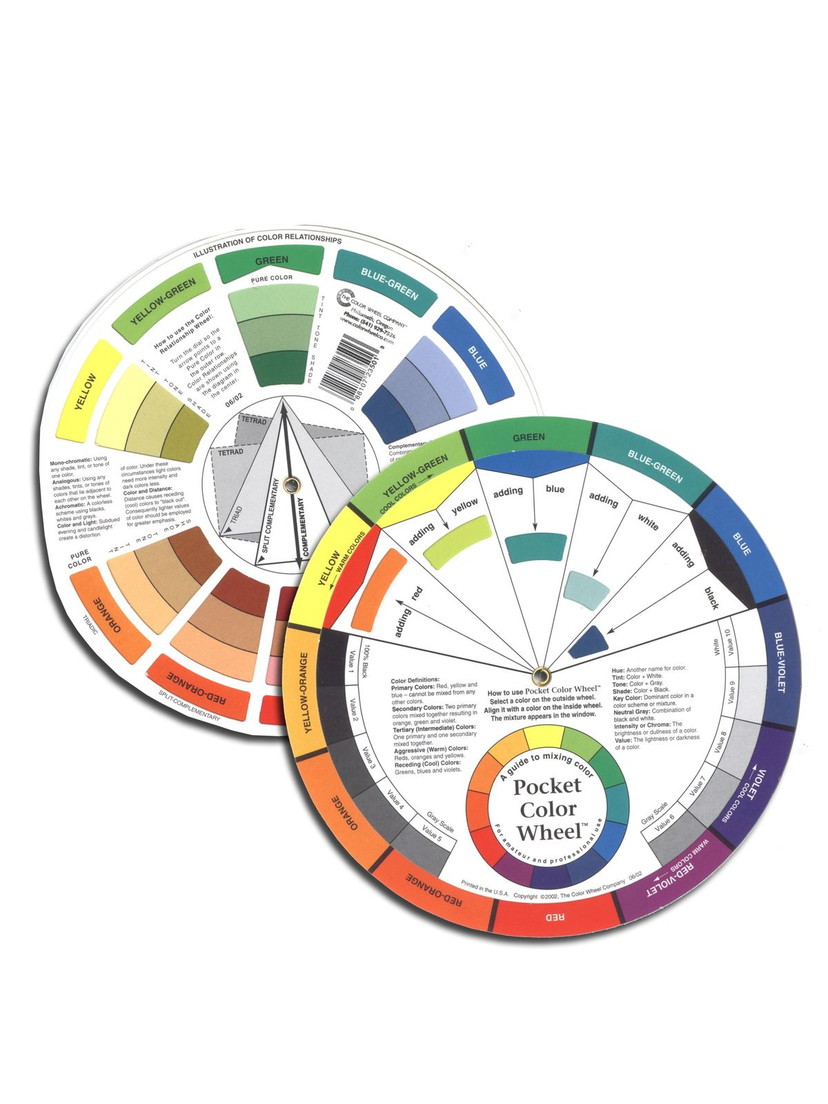 The Color Wheel Company - Mixing Guide