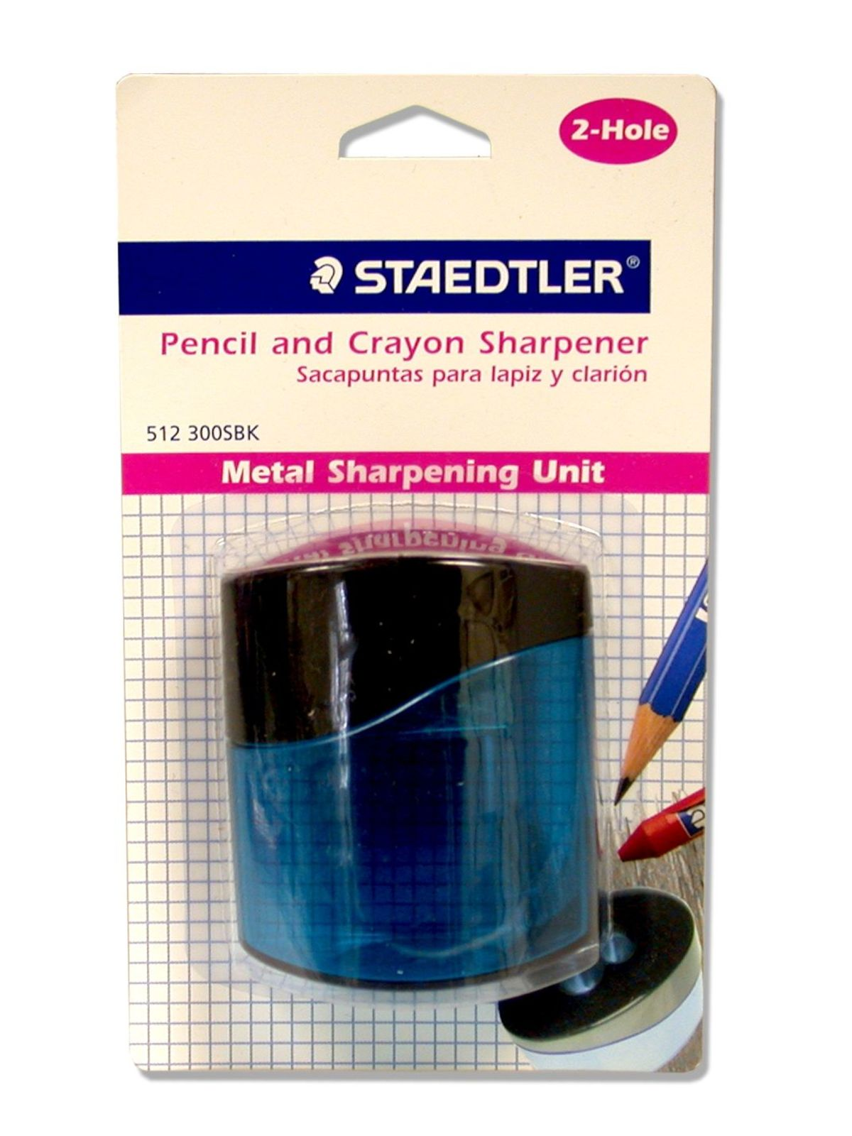 Pencil and Crayon Sharpener
