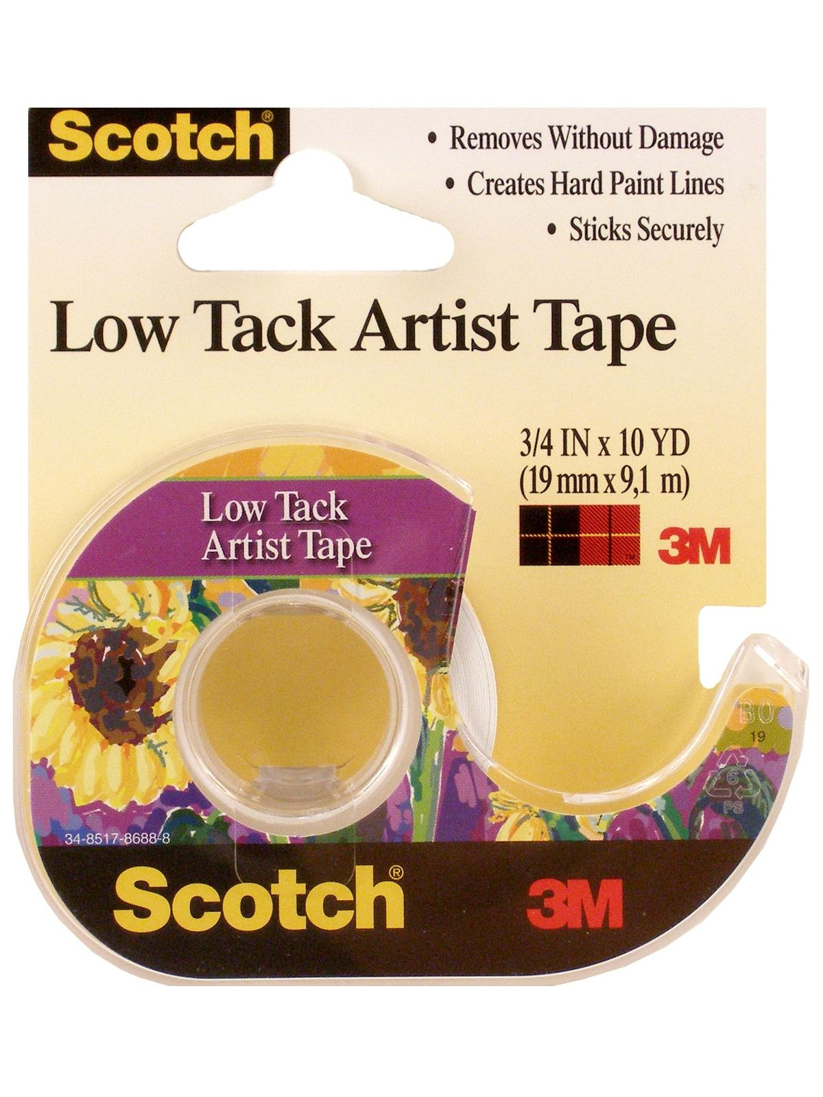 Scotch Low Tack Artist Tape