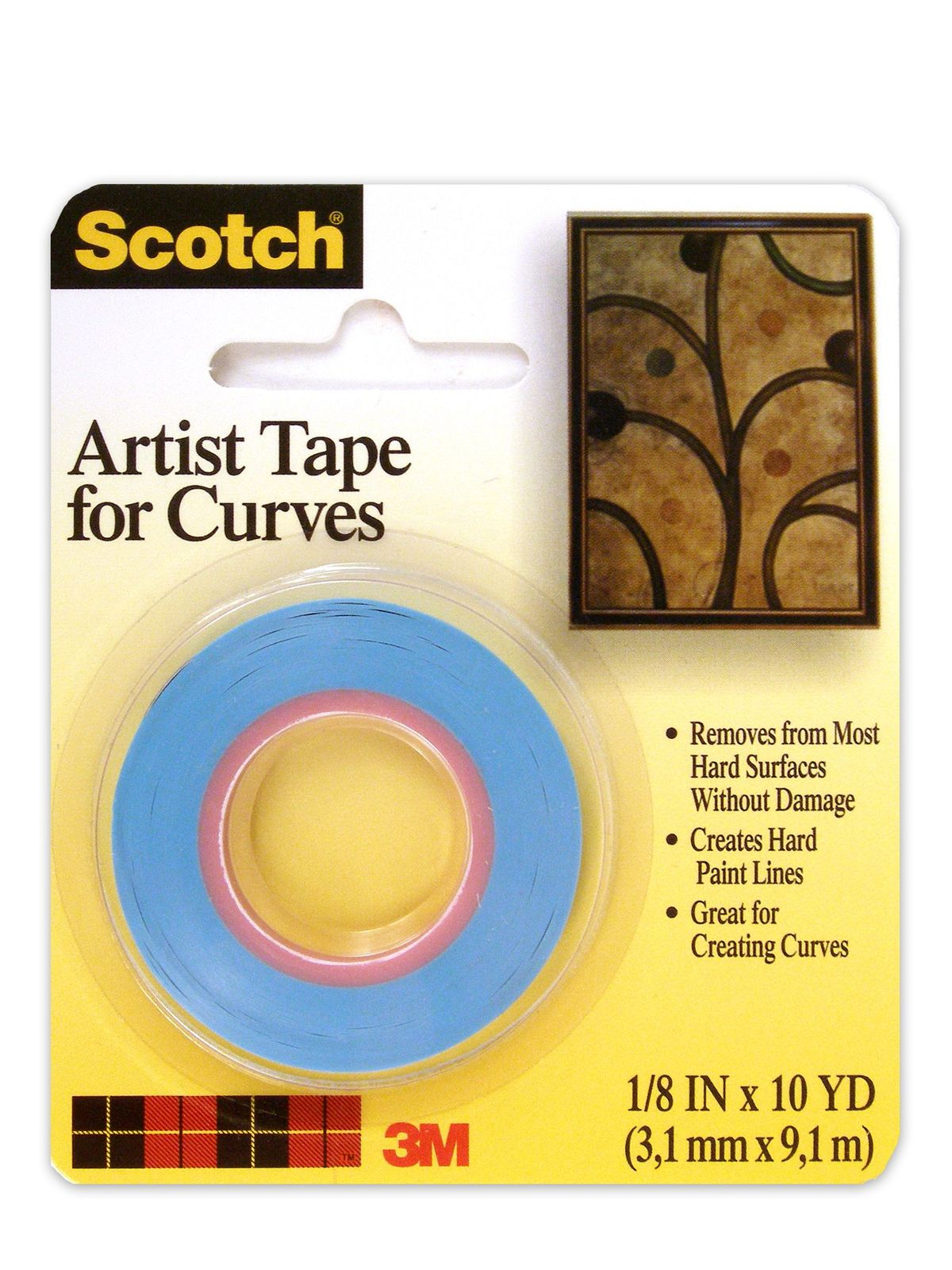 Scotch Artist Tape for Curves