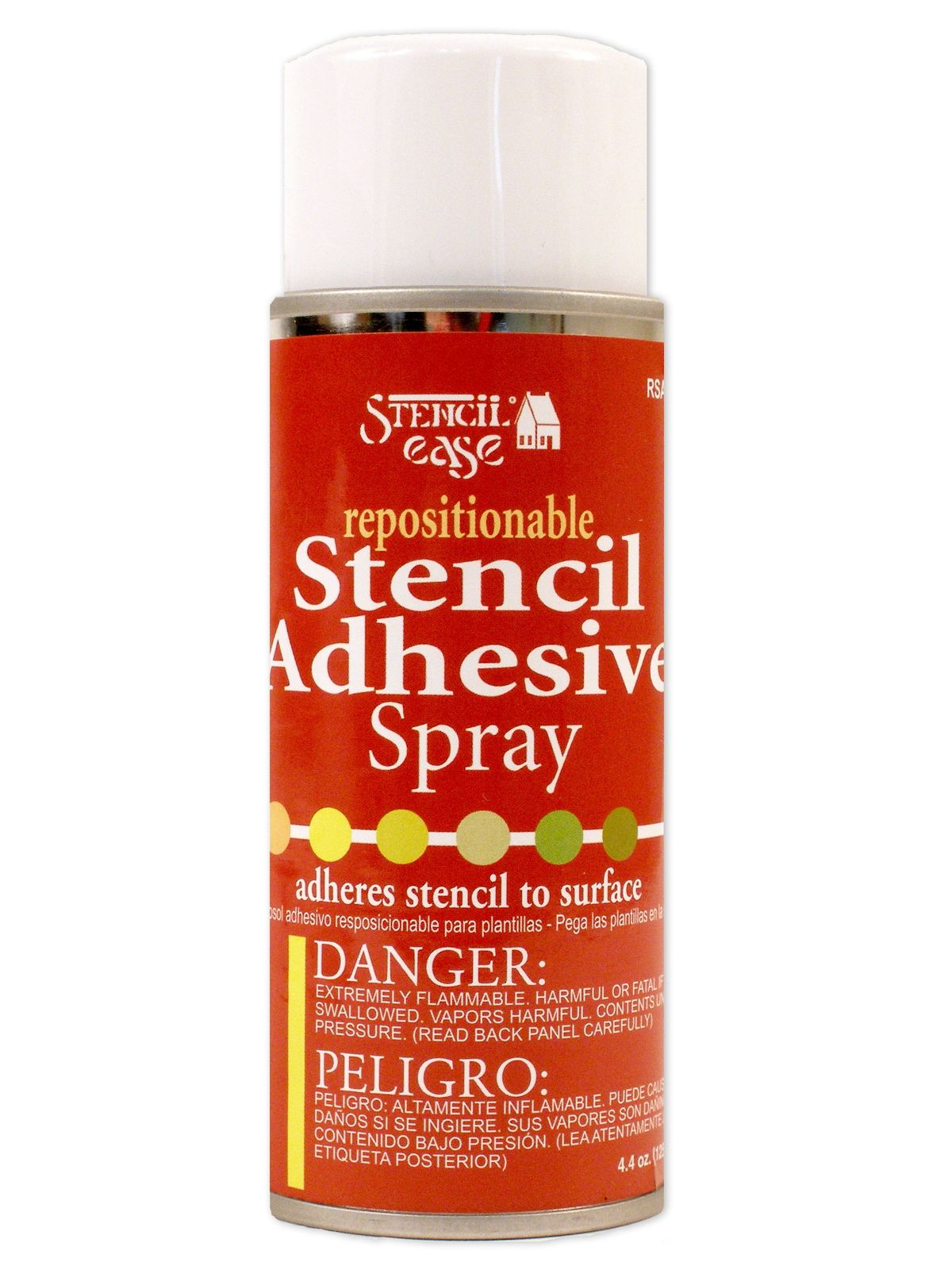 Repositionable Stencil Adhesive Spray