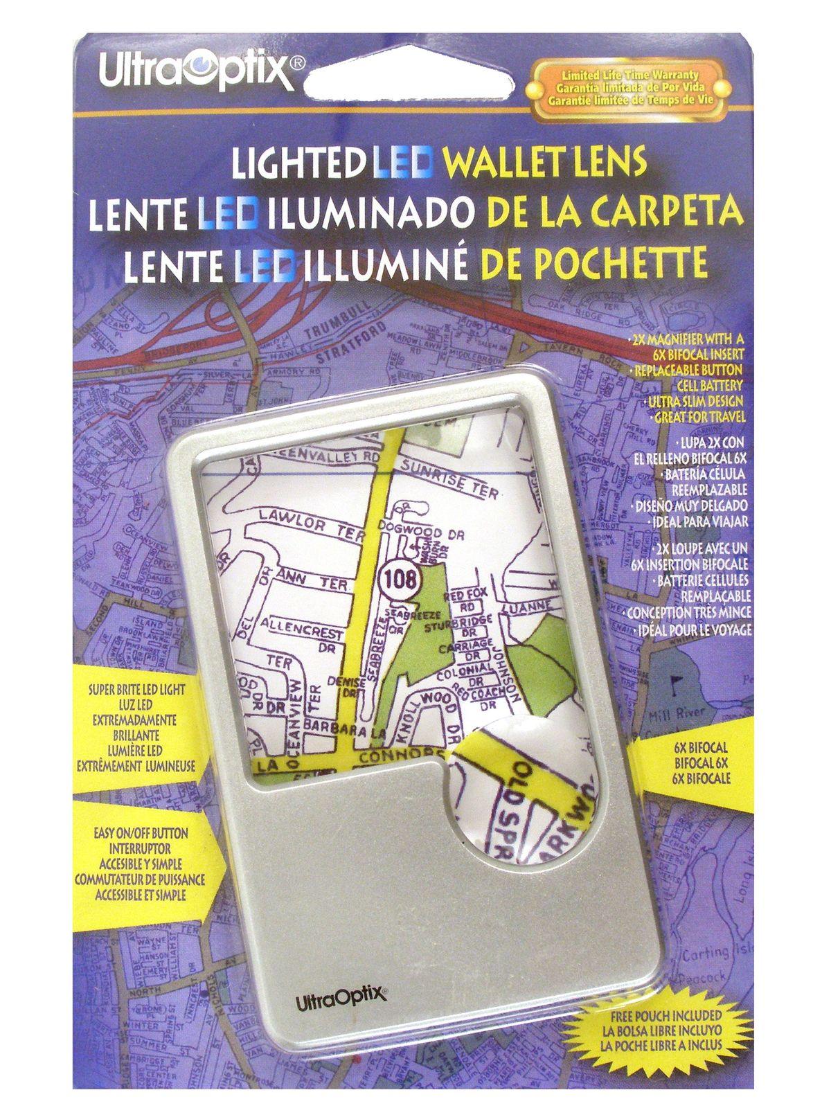 Lighted LED Wallet Lens
