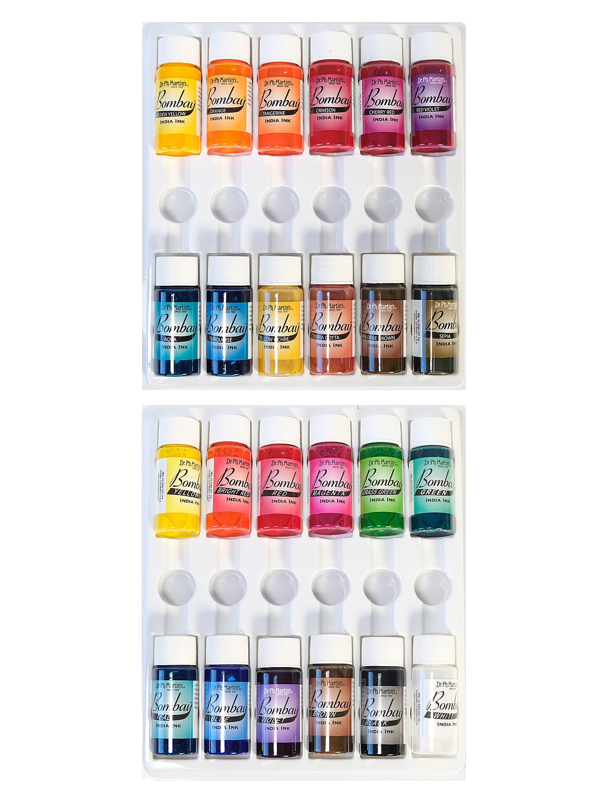 Bombay India Ink Sets 1/2 oz.
