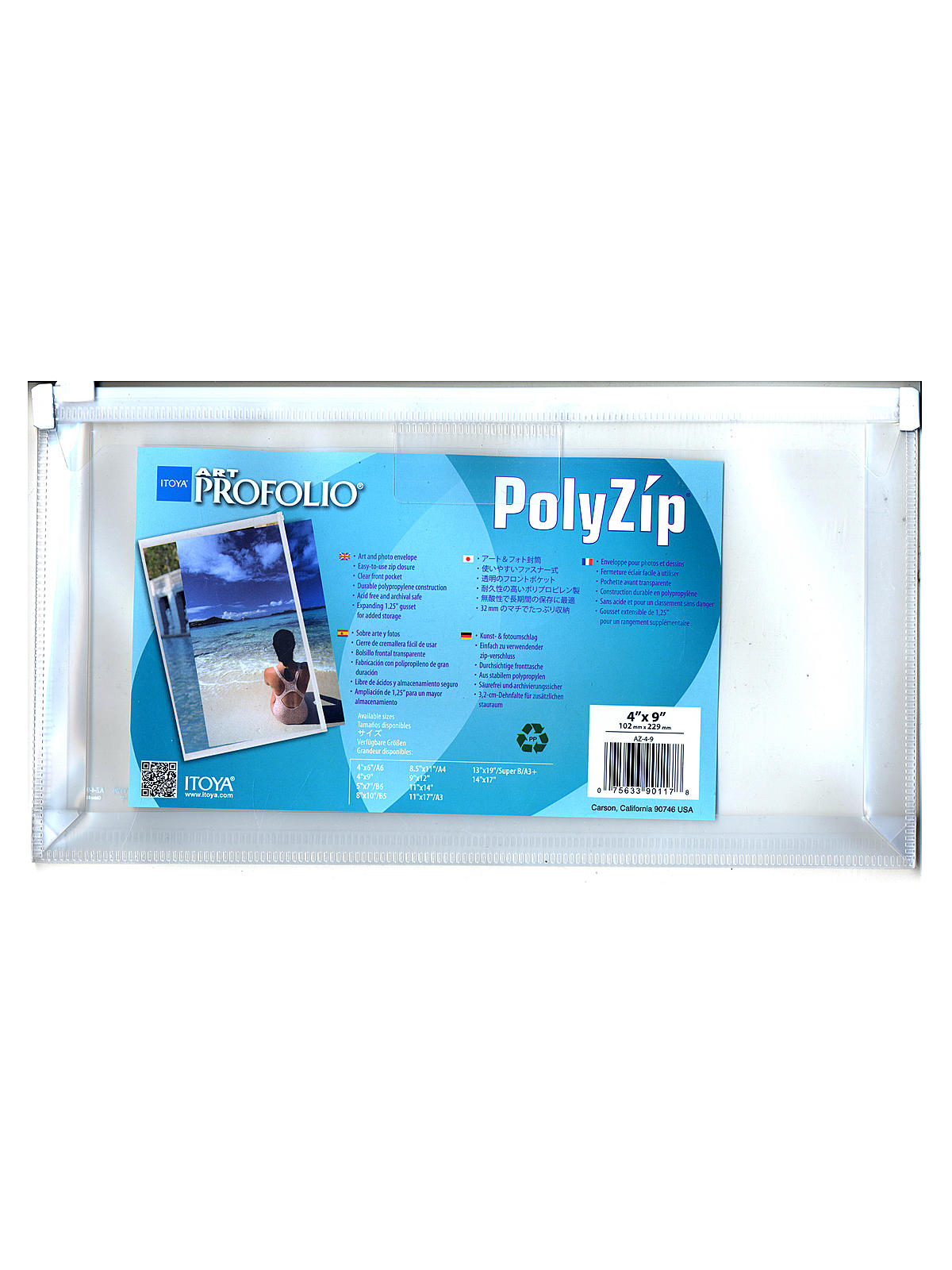 Art Profolio PolyZip Envelope