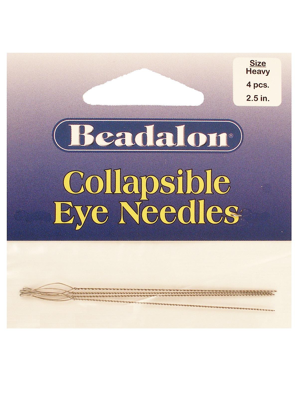 Where To Buy Beadalon Collapsible Eye Needles 86