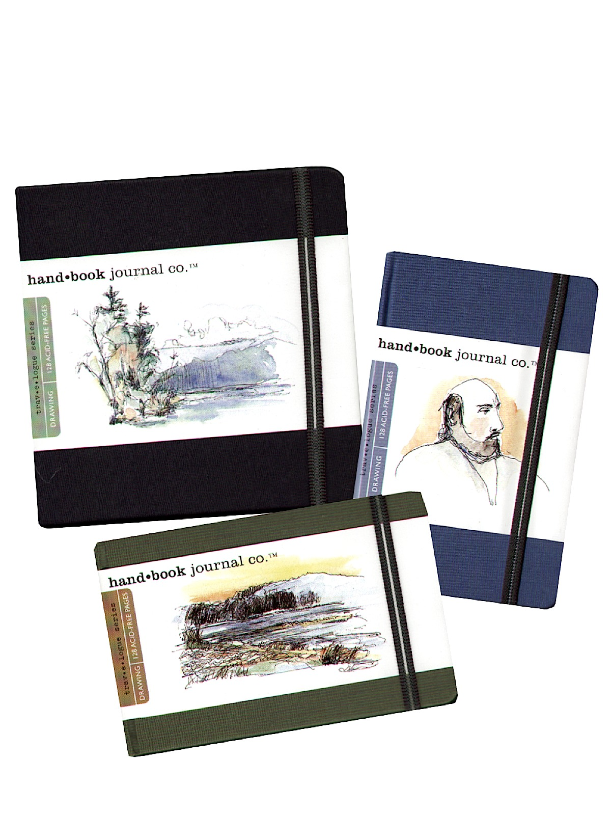 Travelogue Drawing Journals