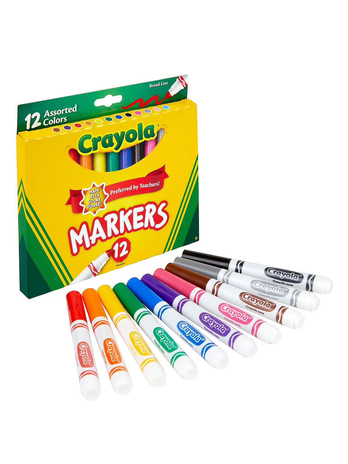Assorted Colors Marker Sets