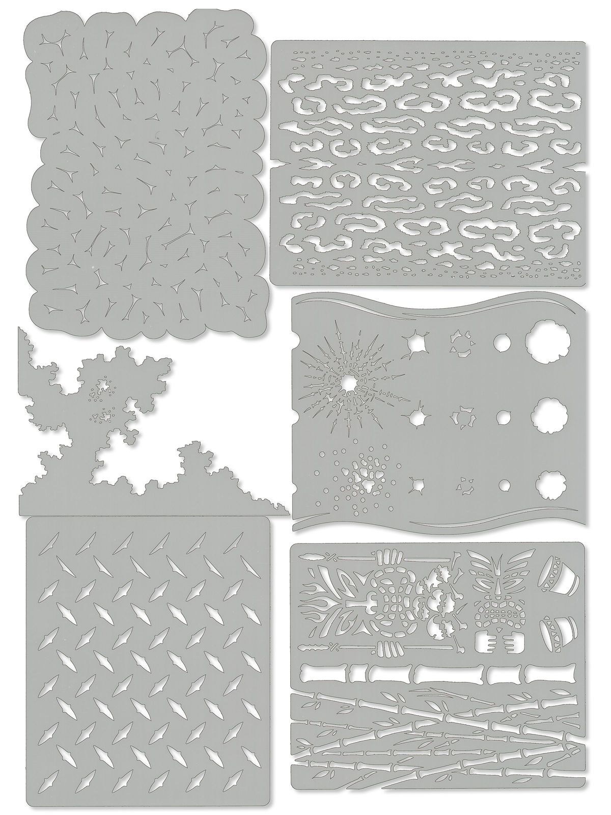 Kustom FX Mini Series Airbrush Templates