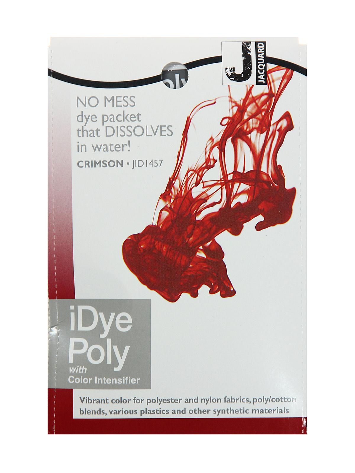 idye poly washing machine