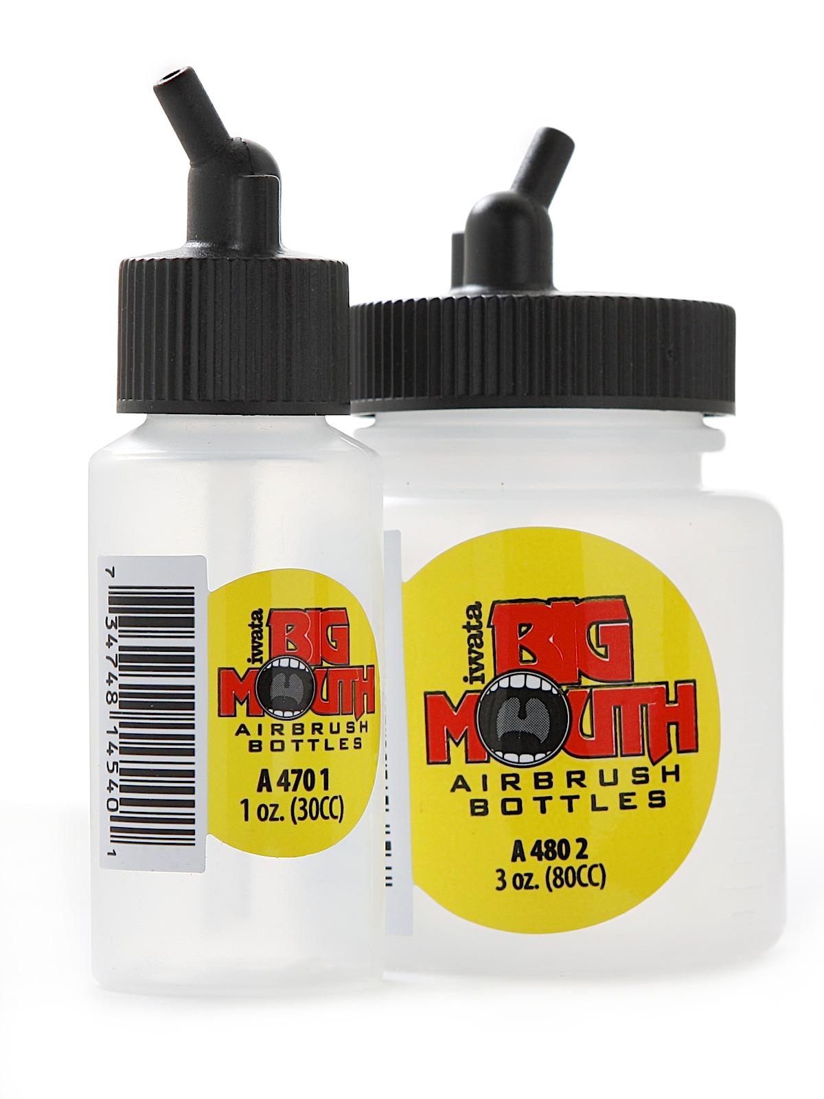 Big Mouth Airbrush Bottles