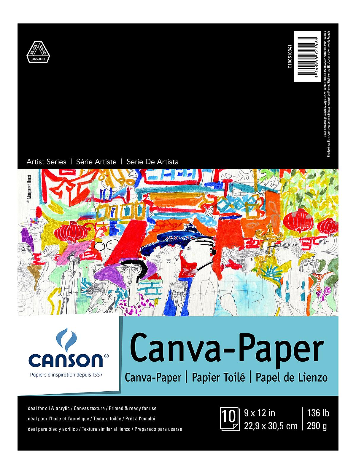 Canson - Foundation Canva-Paper Pad