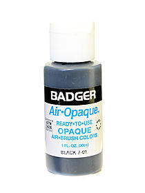 Air Opaque Airbrush Color black 1 oz. bottle 89440