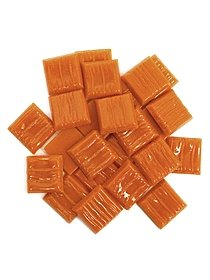 Solid Color Vitreous Glass Mosaic Tile Mediterranean 3 4 in. pack of 24 05189