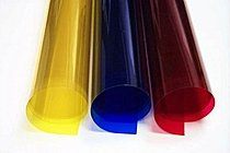 Colored Clear Lay Acetate Film