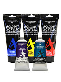 Academy Acrylic Colors burnt umber 3 oz. (90 ml) 71801