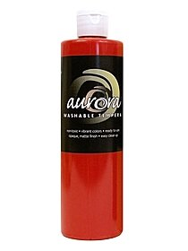 Aurora Washable Tempera red 56015