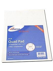 Evidence Quad Pads 5 x 5