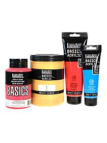 Basics Acrylics Colors primary red 4 oz. tube 53899