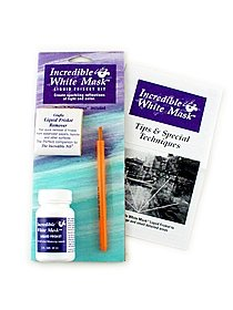 The Incredible White Mask Liquid Frisket Set