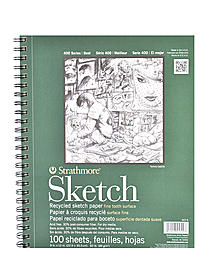 Series 400 Premium Recycled Sketch Pads
