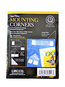 See-Thru Mounting Corners