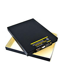 Drop-Front Storage Boxes black 16 in. x 20 in. x 1 1 2 in. 98500