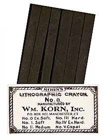 Lithographic Crayon