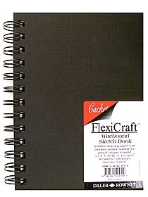 FlexiCraft Wirebound Sketch Book
