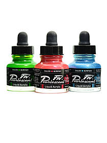 Pearlescent Liquid Acrylic Colors