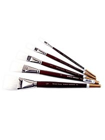 White Sable Long Handle Brushes