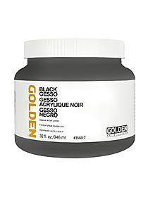 Acrylic Gesso black 8 oz. 88782