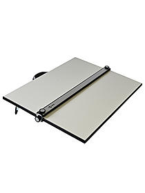 PXB Laminated Parallel Straightedge & White Drawing Board