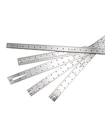 Two-Sided Steel Rulers