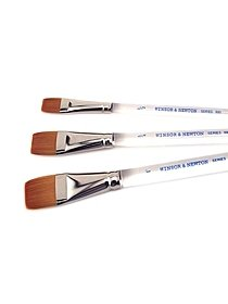 Series 995 Aquarelle Golden Nylon Brushes