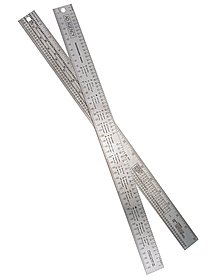 Series 631 Ad Agency Ruler steel ruler